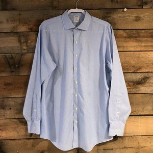 Brooks Brothers checked dress shirt